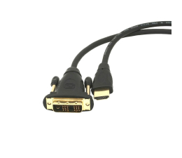 Gembird Kabel HDMI - DVI-D do monitora 3m (CC-HDMI-DVI-10)