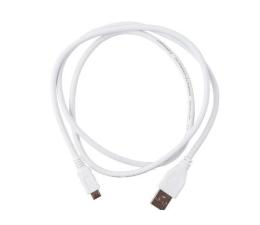 Gembird Kabel USB 2.0 - micro USB 1m (CCP-MUSB2-AMBM-W-1M)