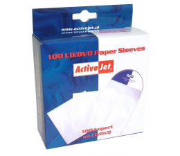 Gembird Koperty CD/DVD (z okienkiem) 100szt.  (KOP-100)