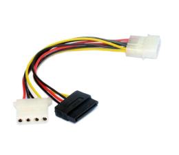 Gembird molex->SATA +molex (zasilanie SATA HDD/ODD) (CC-SATA-PSY2)