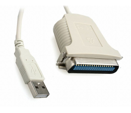 Przejściówka Gembird USB->LPT Centronics DB36 1,8m