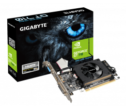 Gigabyte GeForce GT710 1024MB 64bit Low Profile (GV-N710D3-1GL)