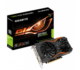 Gigabyte GeForce GTX 1050 Ti G1 Gaming 4GB GDDR5 (GV-N105TG1 GAMING-4GD)