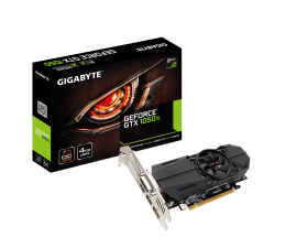 Gigabyte GeForce GTX 1050 Ti OC LP 4GB GDDR5 (GV-N105TOC-4GL)