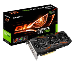 Gigabyte GeForce GTX 1080 G1 Gaming 8GB GDDR5X  (GV-N1080G1 GAMING-8GD  )