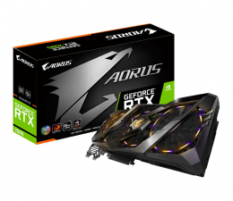 Gigabyte GeForce RTX 2080 AORUS 8GB GDDR6  (GV-N2080AORUS-8GC)