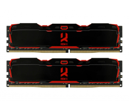GOODRAM 16GB 3000MHz IRDM X Black CL16 (2x8GB) (IR-X3000D464L16S/16GDC)