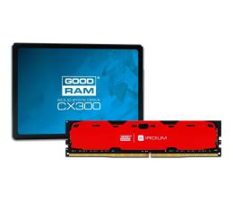 GOODRAM 240GB SSD CX300 + 16GB 2400MHz Iridium Red