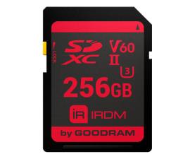 GOODRAM 256GB SDXC UHS-II U3 zapis 95MB/s odczyt 280MB/s (IR-S6B0-2560R11)