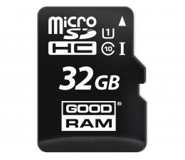 GOODRAM 32GB microSDHC zapis 10MB/s odczyt 60MB/s (M1AA-0320R11 )