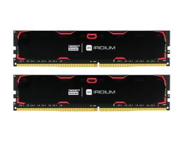GOODRAM 8GB 2133MHz IRIDIUM Black CL15 (2x4GB) (IR-2133D464L15S/8GDC)