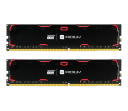 GOODRAM 8GB 2400MHz IRIDIUM Black CL15 (2x4GB) (IR-2400D464L15S/8GDC)