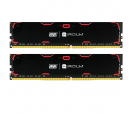 GOODRAM 8GB 2400MHz IRIDIUM Black CL17 (2x4GB) (IR-2400D464L17S/8GDC)
