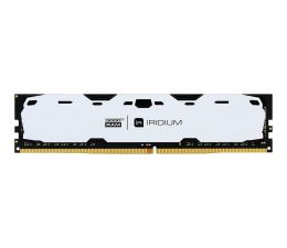 GOODRAM 8GB 2400MHz IRIDIUM White CL15 (IR-W2400D464L15S/8G)