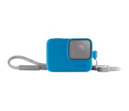 GoPro Etui + Smycz niebieskie (ACSST-003)