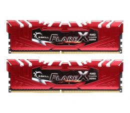 G.SKILL 16GB 2400MHz Flare X Red Ryzen CL15 (2x8GB)  (F4-2400C15D-16GFXR)