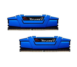G.SKILL 16GB 2400MHz Ripjaws V Blue CL15 (2x8GB) (F4-2400C15D-16GVB)