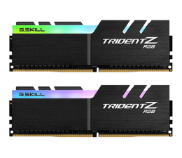 G.SKILL 16GB 2400MHz Trident Z RGB LED CL15 (2x8GB) (F4-2400C15D-16GTZR)
