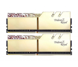 G.SKILL 16GB 3200MHz TridentZ Royal Gold CL16 (2x8GB) (F4-3200C16D-16GTRG )