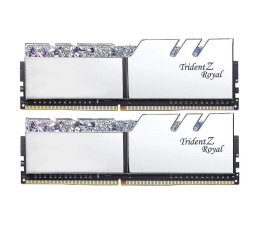 G.SKILL 16GB 3200MHz TridentZ Royal Silver CL14 (2x8GB)  (F4-3200C14D-16GTRS)