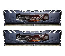 G.SKILL 32GB 2400MHz FlareX Black Ryzen CL15 (2x16GB) (F4-2400C15D-32GFX)
