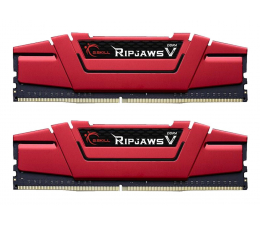 G.SKILL 8GB 2400MHz RipjawsV Red CL15 (2x4GB) (F4-2400C15D-8GVR)