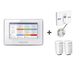 Honeywell Moduł sterujący + podstawka + 2x termostat (ATC928G3026+ATF600+2xHR91EE )