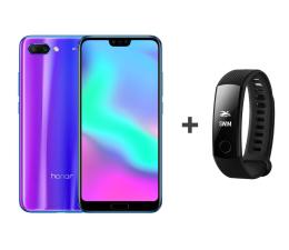 Honor 10 LTE Dual SIM 128 GB niebieski + Smartband (COL-L29D Phantom Blue+55022081 Carbon Black)