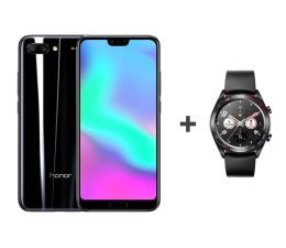 Honor 10 LTE Dual SIM 64 GB czarny + Watch Magic (COL-L29A Midnight Black+Talos-B19S Magic Lava)