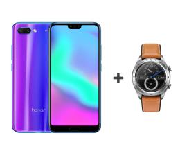 Honor 10 LTE Dual SIM 64 GB niebieski + Watch Magic (COL-L29A Phantom Blue+Talos-B19V Silver)