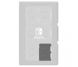 Hori NINTENDO SWITCH GAME CARD CASE 24 (CLEAR) (873124006230)