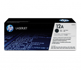 HP 12A Q2612A black 2000str. (LaserJet 1005/3015/3020/3030/3050/3052/3055)
