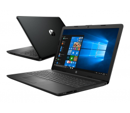 HP 15 i5-8265U/8GB/240/Win10 FHD  (15-da1015nw (6AX75EA)-Black-240 SSD)