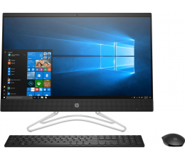 HP 24 AiO i3-8130U/4GB/240/Win10 IPS  (24-f0016nw (5RA37EA)-Black-240 SSD)