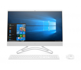 HP 24 AiO i3-8130U/8GB/240/Win10 IPS MX110  (24-f0019nw (5QW28EA)-White-240 SSD )