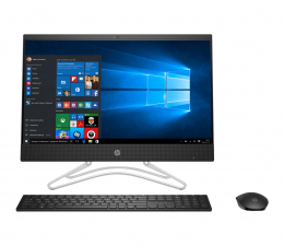 HP 24 AiO i5-8250U/16GB/480/Win10 MX110 IPS  (24-f0021nw (5SX74EA) - Black - 480 SSD)