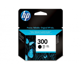 HP 300 CC640EE black 4ml (Envy 110 WiFi CQ809B)