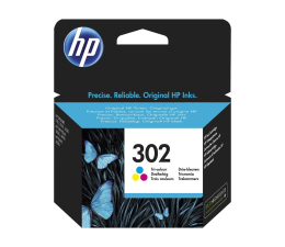 HP 302 F6U65AE CMY color 165str. (DeskJet 1110/2130/4650)