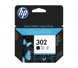 HP 302 F6U66AE black 190str. (DeskJet 1110/2130/4650)