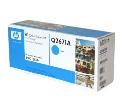 HP 309A Q2671A cyan 4000str. (Color LaserJet 3500/3500/3500N/3550/3550n)