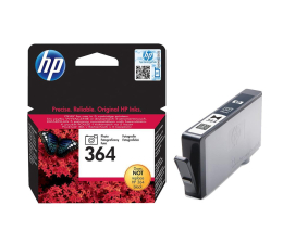 HP 364 CB317EE photo black 250str. (D5460/B8550/C310A/C5380/C6380/D7560/D7860)