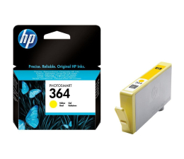 HP 364 CB320EE yellow 300str. (D5460/B8550/C310A/C5380/C6380/D7560/D7860)