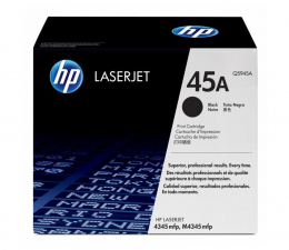 HP 45A Q5945A black 18000str. (LaserJet 4345mfp/4345x mfp/4345xm mfp)