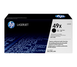 HP 49X Q5949X black 6000str. (LaserJet 1160/1320/1320N/1320NW/1320TN/3390)