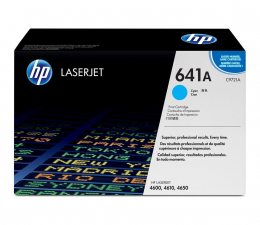 HP 641A C9721A cyan 8000str. (Color LaserJet 4600/4600DN/4600DTN/4600HDN)