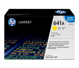 HP 641A C9722A yellow 8000str. (Color LaserJet 4600/4600DN/4600DTN/4600HDN)