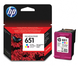 HP 651 C2P11AE CMY color 300str. (DeskJet 5575/5645)