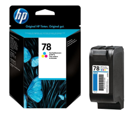 HP 78 C6578D color 19ml (DeskJet 710C/715C/720C/722C/815C/820Cxi/830C)