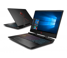 HP OMEN 15 i7-8750H/16G/256+1TB/W10X GTX1070 144Hz  (15-dc0009nw (4XH05EA))