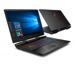 HP OMEN 15 i7-8750H/16G/480+1TB/W10X GTX1060 144Hz (15-dc0006nw (4XF27EA)-480 SSD PCIe )